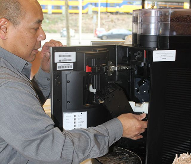 coffee machine maintenance