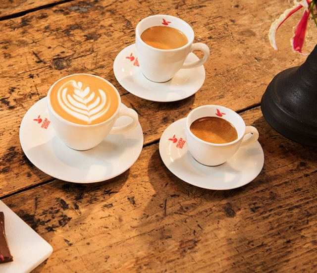 Quality coffee and machines for cafes